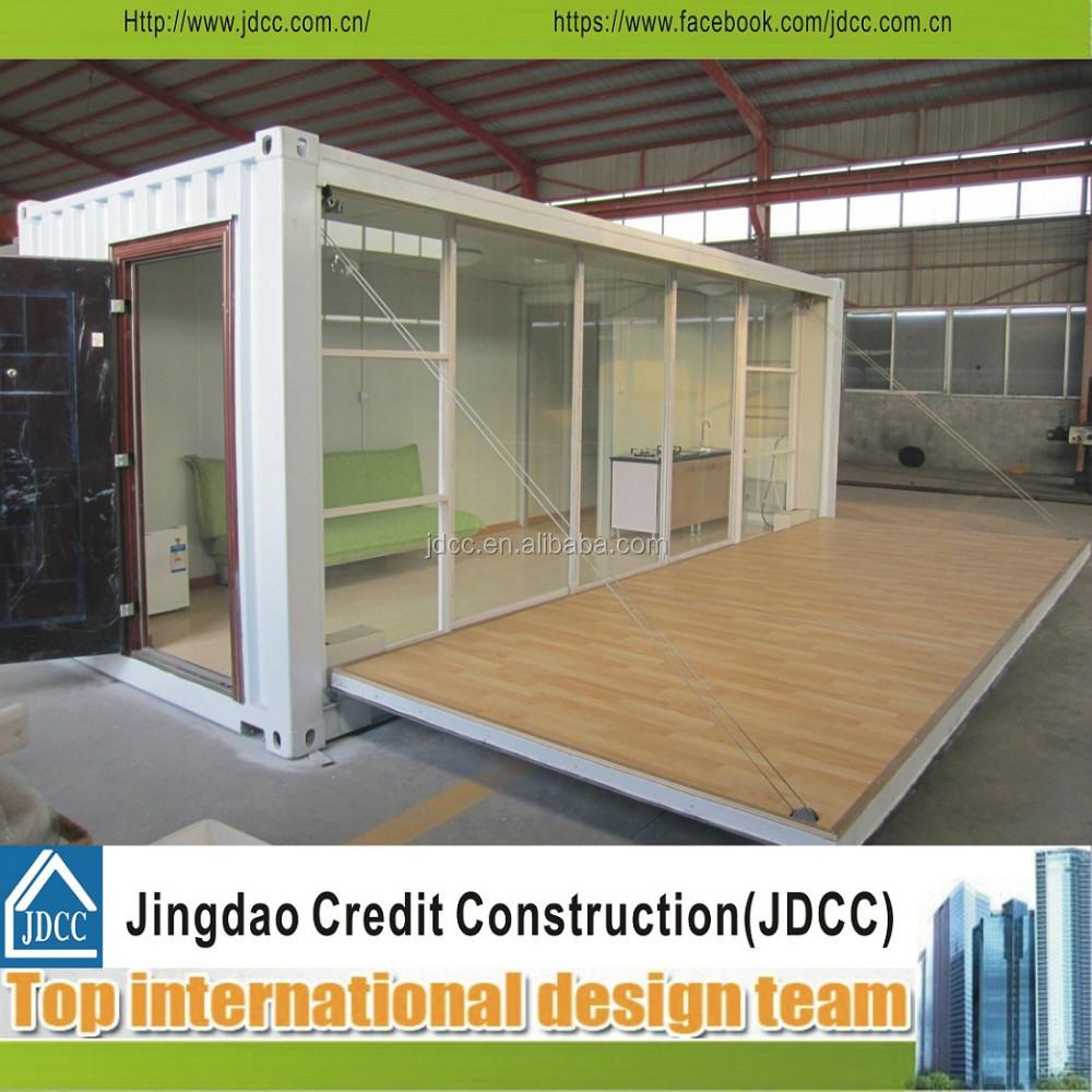 Faltbare luxus fertighaus container haus fertighaus for Container haus anbieter