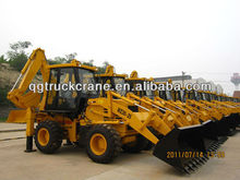 Qingong wheel loader backhoe WZ30-25 with Cummins Engine/Load capacity:2500kg