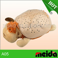 Animal Plush Night Light Toys with projection night light best for kids bedroom