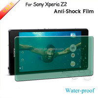 best quality smartphone 9H anti shock anti crack Tempered Glass Screen Protector For Sony Xperia Z