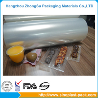 high barrier EVOH stretch roll film for frozon food wrap