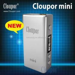 2014 factory wholesale high quality Cloupor Mini 30W hammer clone mechanical mod