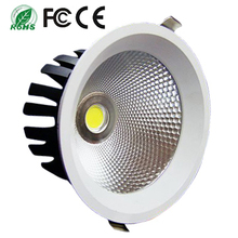China supplier wholesale Epistar high power 30w cob led downlight