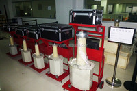 Model SY testing of di-i-electric strength of transformer and circuit breaker oil