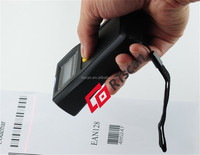 Barcode scanner with display, wireless and long distance communication, for simple wireless use