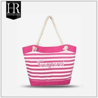 2014 MIAMI promotional printable canvas tote bag rope handle