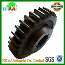 Factory supplier best quality high precision stainless steel cnc grinding spur gear TS 16949 approved spur gear