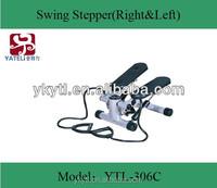 mini hydraulic stepper exercise stepper/body stepper swing stepper/hot fitness equipment on TV