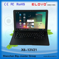 wide screen laptop computer 13.3 inch dual core Android4.2 factory cost once in the moon