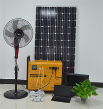 Hot sale 40w portable solar panel led lighting system