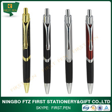 First Y215 Triangular Printing Logo Metal Ballpoint Pen For Promotion
