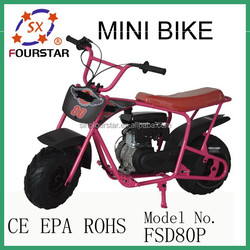Gasoline off road kick scooter 80cc,child motocycle