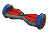 2015 Newest Cheap Hot Selling Two Wheels Mini Smart Self Balancing Electric Scooter With Buletooth Speaker