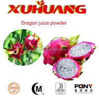 100% water-soluble dragon fruit juice concentrate powder