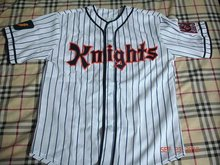 Roy Hobbs #9 Knights Jersey BASEBALL NEW YORK NATURAL