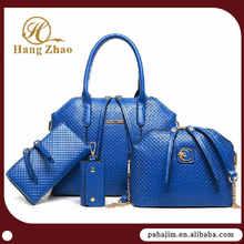 Pahajim shoulder long strap messenger bag 4 sets handbags leather handbags private label patent handbag