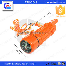 Trade Assurance WAP-health one year warranty the hottest 5 in 1 whistle with orange lanyard