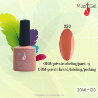 8ML 128 Color Change Color private nail builder gel