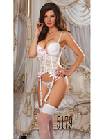 hot selling sexy satin women corset babydoll lingerie pic sleepwear sexy for women