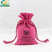 nature recycle colorful drawstring canvas bag for sale