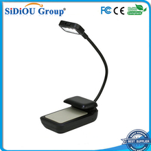 clip on led flat book light