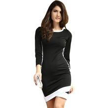 Sexy gros minceur noir robes new fashion 2013
