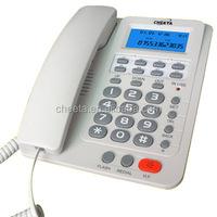 Corded analog secretary phone