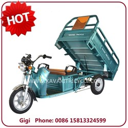 China Guangzhou supply electric tricycle for cargo with 20Ah48V/60V battery