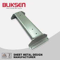 H shaped welding and bending fabrication aluminum joist