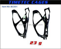 Bicycle carbon water bottle cage 3k glossy, carbon fiber water bottle cage