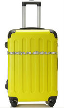 Fashion Design and Colorful Transparent Clear Super Light spinner 4 Wheels ABS Trolley case