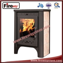 Mini wood cook stove with water tank