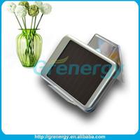 Unique mobile solar usb portable solar power bank 5000mah charger