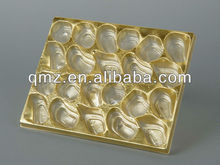 Plastic Metallized PVC Chocolate Tray