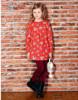 long sleeve children girl dress