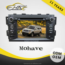 windows car dvd radio for mohave/borrego with usb tv bluetooth