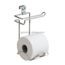 Chrome Wire Bathroom Over Tank Tissue Rack