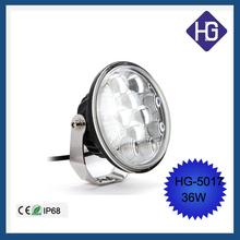 Bright 36W Car Vehicle ATV Offroad SUV LED Headlight Fog Work Head Light Lamp
