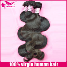 More Realistic Appearance Hairstyles Full Ends Body Wave 100% Virgin Human Cheap Hair Extensions