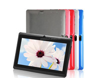 A33 7 inch Android 4.4 KitKat Tablet PC for Kids, HD screen Wifi Quad Core CPU bluetooth cameras 512MB/4GB