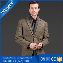 Pants suits Guangzhou woolen office deep gray uniform suits for men
