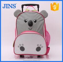 2015 best brand kids trolley school bag in wheeled market