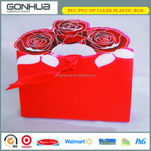 Manufactory Customized Hot Rose Printed PP Clear SGS Approved Wholesale Biodegradable Small Plastic Bag For Accessories Package