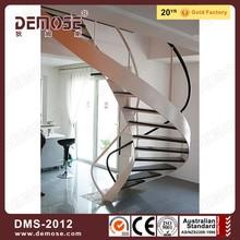 modern cast iron steel plate spiral stairs