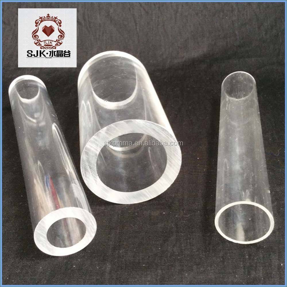 Hot sale clear plastic pipe large diameter acrylic