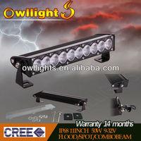 "Guangzhou 4x4 11"" 50w LED Slim Light Bar Offroad LED Light Bar High Quality LED Light Bar For ATVs, SUV, Trucks Accessory"