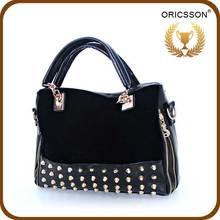2015 Trend Products Shoulder Rivet Bags Girls Leather Messenger Bag