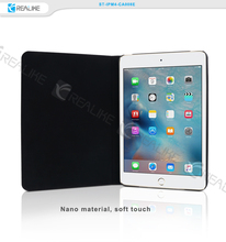 Newest design leather stand smart flip cover case for iPad mini 4 tablet case