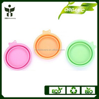 Wholesale Collapsible Silicone Dog Bowls Foldable Pet Bowl