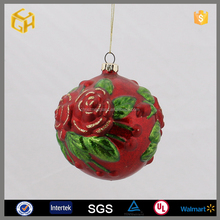 Factory supply flower ball xmas decorations